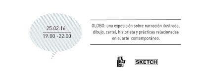 Comic Book Nigger: GLOBO en Sketch Gallery, Bogotá, 25 de febrero de ...