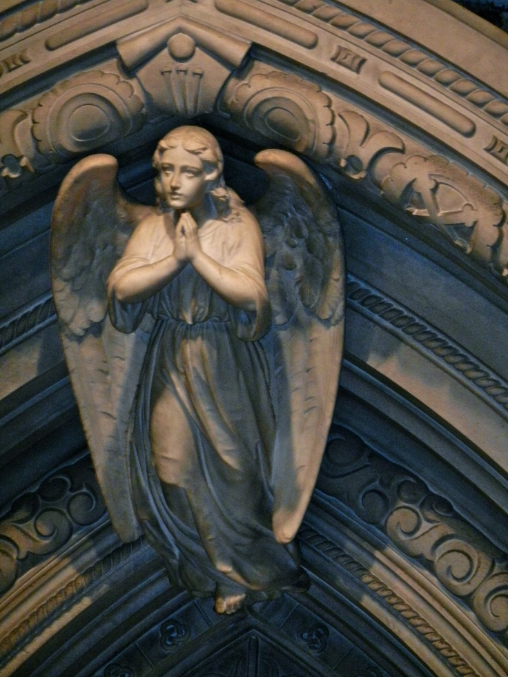 Angel from Trinity Church, New York