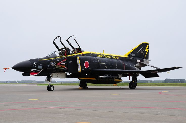 Japan Air Self-Defense Force (JASDF) Mitsubishi Heavy Industries F-4EJ Kai Phantom II 2008 retirement sceme.