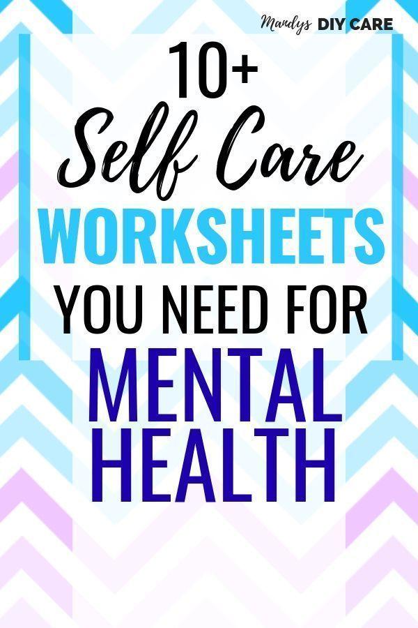 Laden Sie Self Care-Arbeitsblätter und -Druckvorlagen sofort herunter – Self Care For Moms