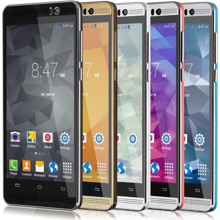 """5"""" Unlocked 3G GSM AT&T T-mobile Straight Talk Android Cell Phone Smartphone GPS #XGODY"""