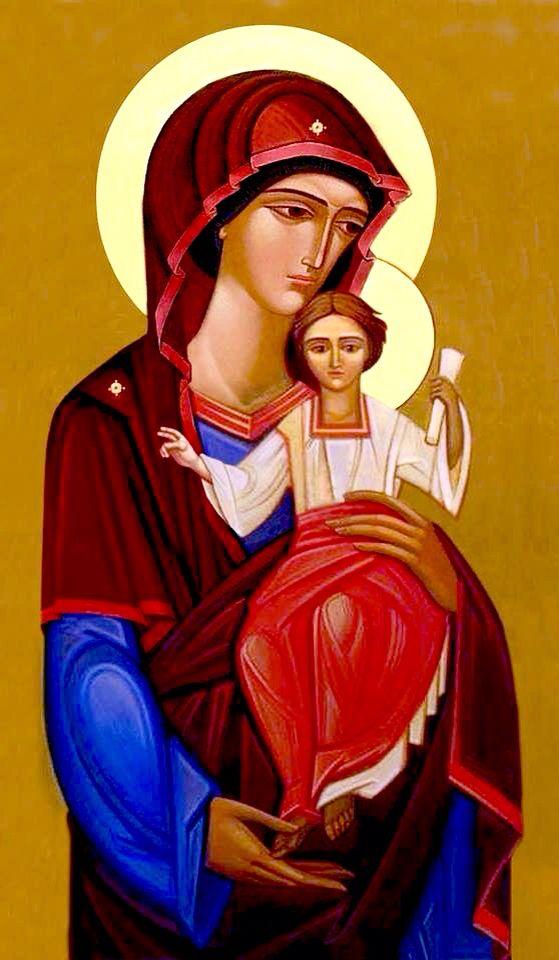 Theotokos - contemporary
