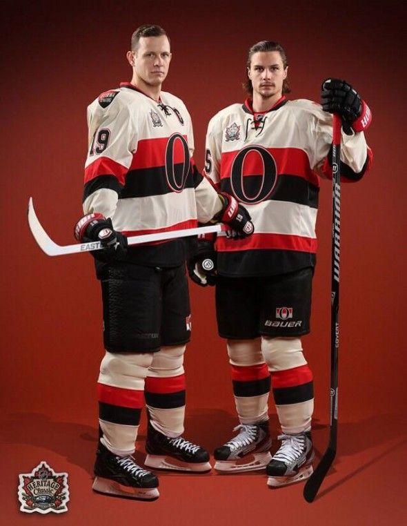 Ottawa Senators 2014 Heritage Classic Uniform