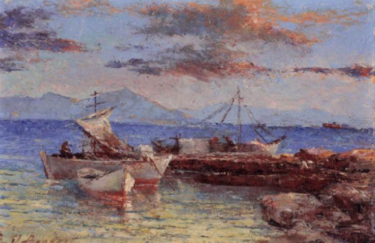 Αργυρός Ουμβέρτος-Ψαρόβαρκες δίπλα στην προβλήτα