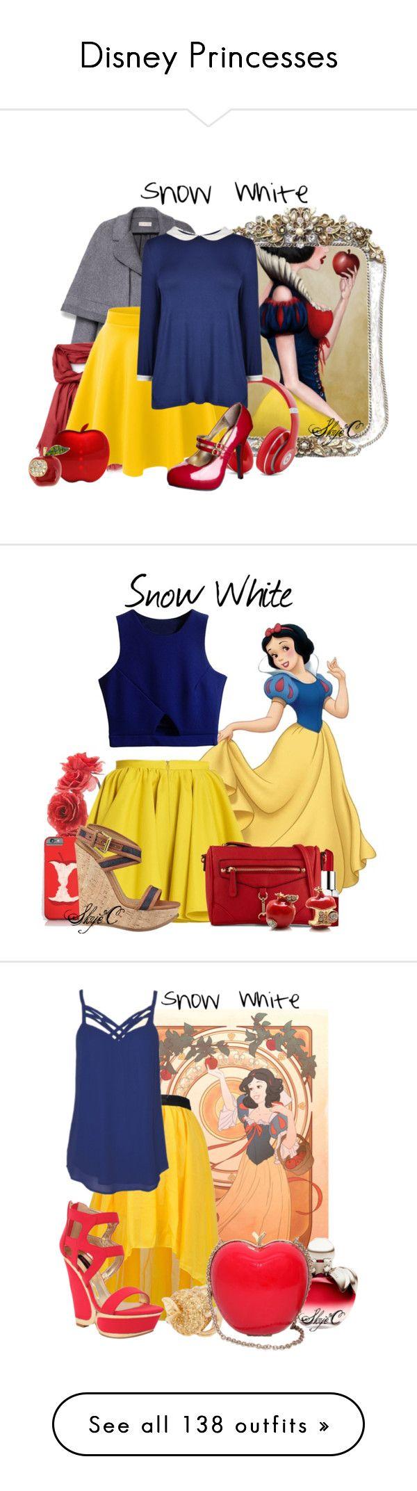 """Disney Princesses"" by rubytyra ❤ liked on Polyvore"