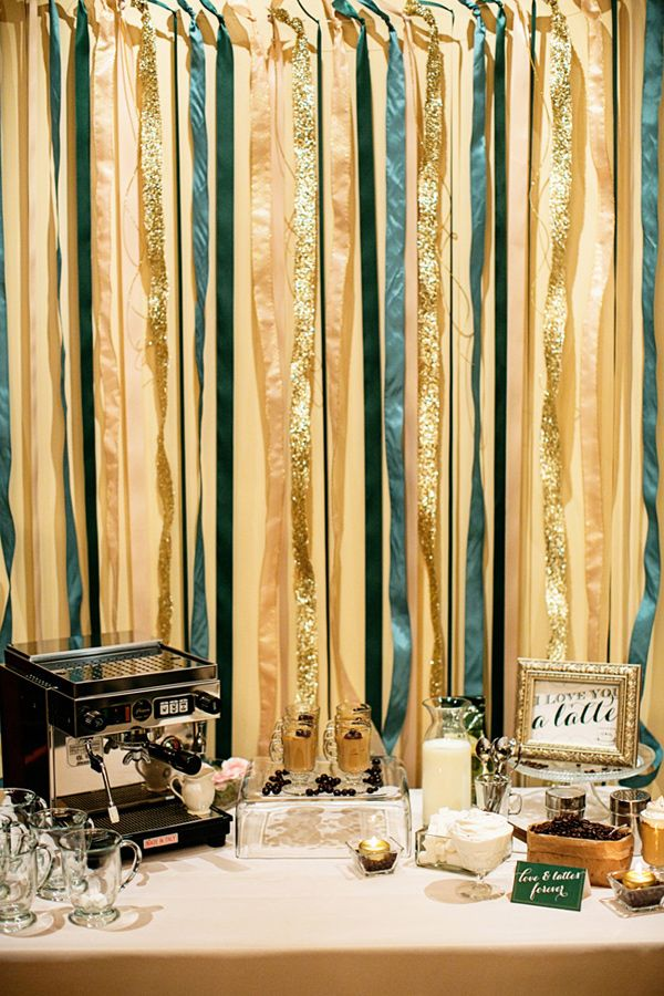 Champagne And Emerald Wedding Ideas From Sugar Branch
