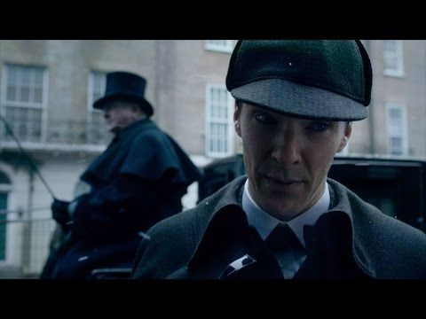 HOLY CRAP GUYS WE GOT A TRAILER Sherlock season 4 trailer: Comic Con 2015 hints at Moriarty return, first glimpse of Benedict Cumberbatch in Christmas special - News - TV & Radio - The Independent