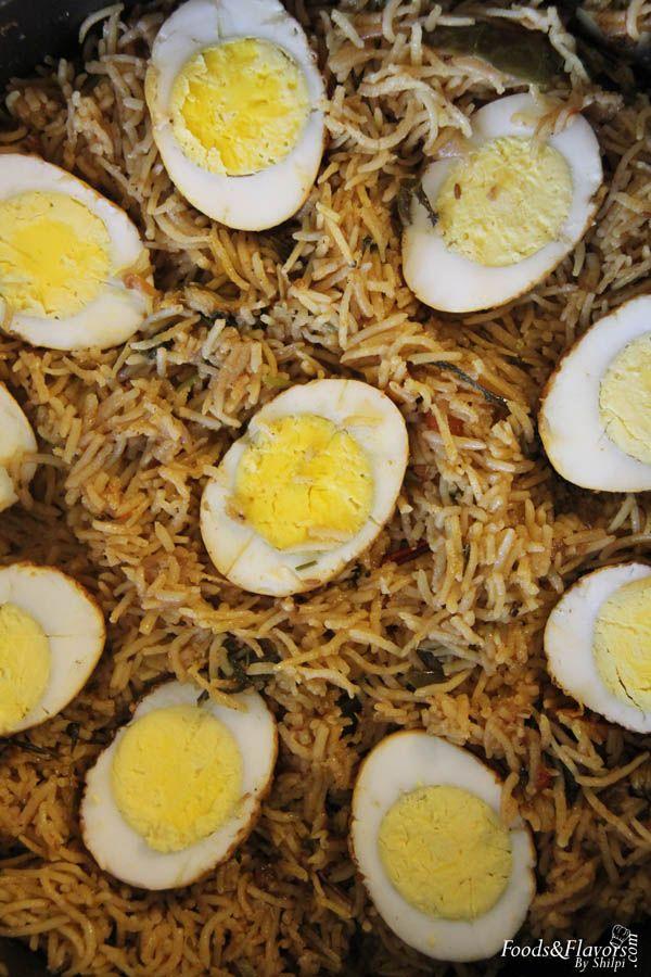 how to make egg biryani in hindi