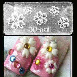 51 best 3d molds images on pinterest 3d nails art top coat and sakura mold 3d molds take the tedious hand work time out of 3d nail prinsesfo Images