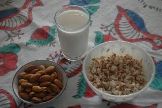 V E G A N: Badem Sütü