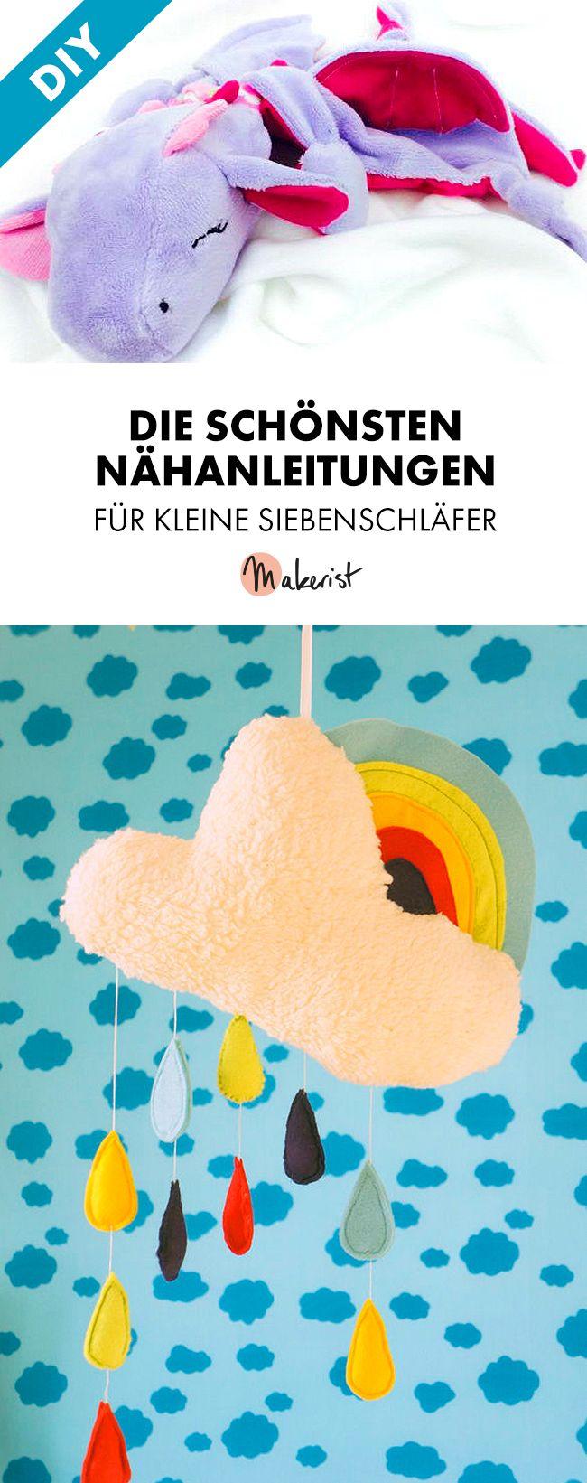 Anleitungen zum Schlafen für Kinder - Schnittmuster und Nähanleitungen via Makerist.de