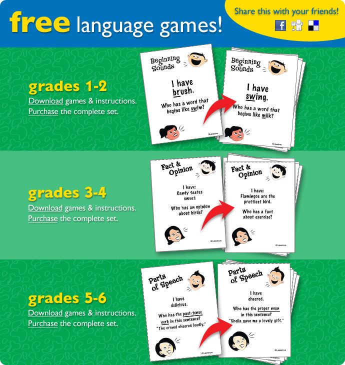 """Language Games free printables divided by grade level. """"I have..who has"""": Games Slavomirak, Speech Language, Teaching Ideas, Favorite Games, Free Language, Games Alyssa Rose, Slp Language, Language Games, Therapy Ideas"""