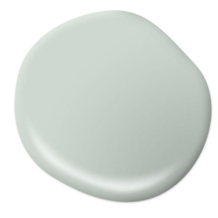 My new guest bathroom color, love it!!  Behr Breezeway - hmmm ... Could pull me away from pure neutral walls!