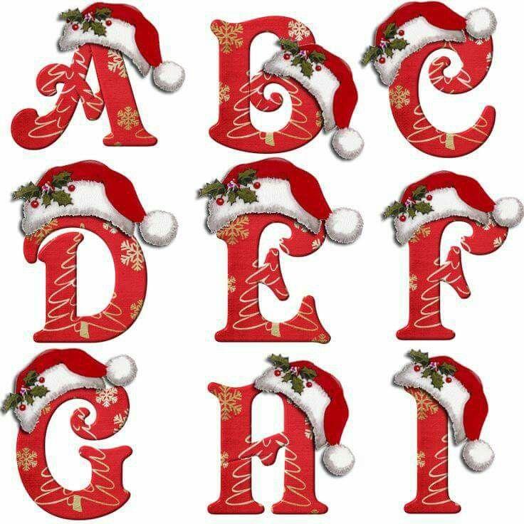 Abecedário de Natal - face
