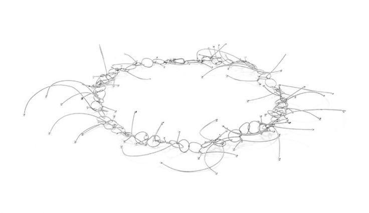 Liliana Guerreiro | Colecções - Handmade silver necklace, with a filigree technique