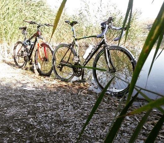 Doğayla içiçe @omer_ cepin teşekkürler #doğa #bisiklet #bisikletturu #bisikletkeyfi #bisikletliyasam #bisikletliulasim #bisikletaşkı #manzara #bubisiklet #mersinbisiklet