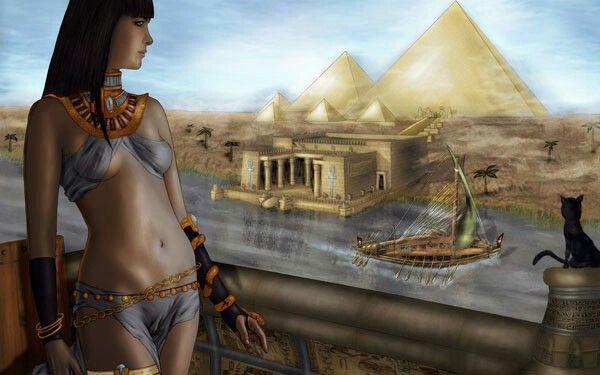Cleopatra-egypt wallpaper