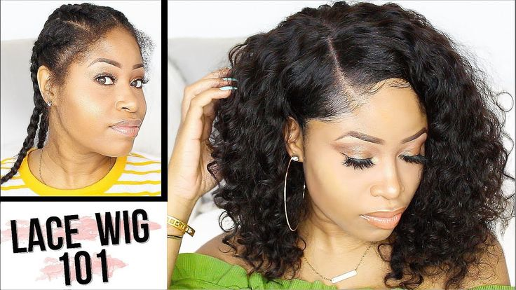How to apply lace wig for beginners no glue no sew