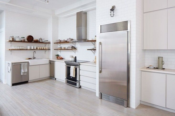 The Food52 staff kitchen in NYC designed by Brad Sherman