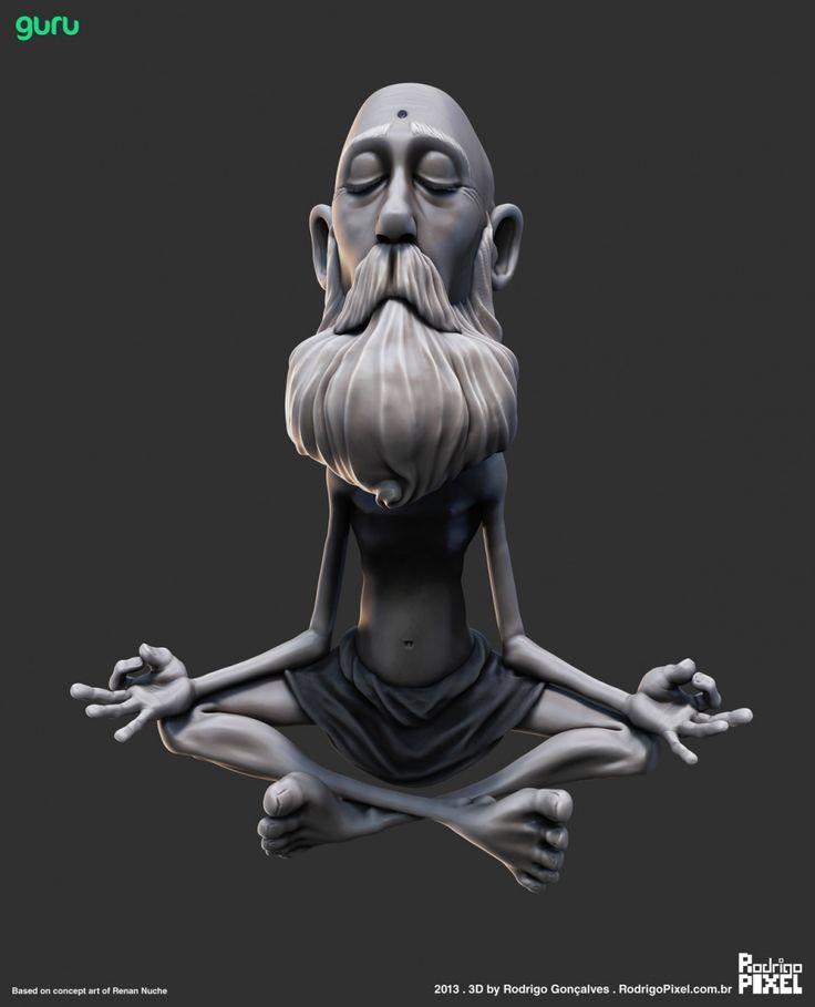 Character Design Zbrush : Best zbrush digital sculpture images on pinterest