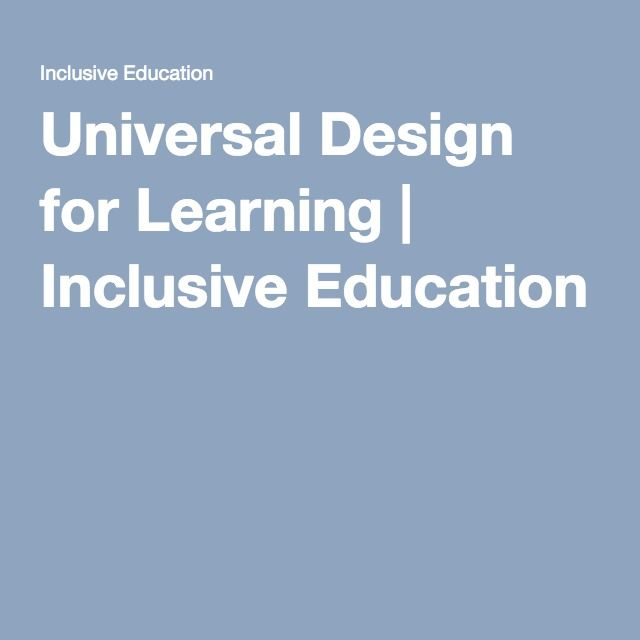 UDL - Valuable link for educators as it will develop understanding around basic principles, guidelines and looks deeper at teaching strategies, classroom organisation, digital tools and alternative ways of approaching learning. Links to some of the learning needs teachers need to understand more about and cater for.