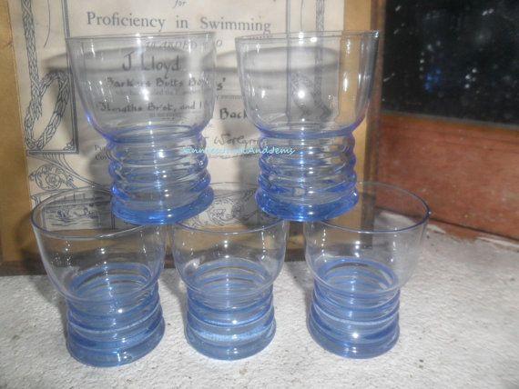Small Drinking Glasses  Spirit Glasses  Found by GlassEyedGoblin, €11.00