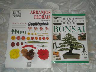 JMF - Livros Online: Arranjos florais + Livro Bonsai