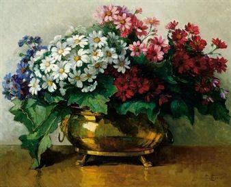 jeanette slager paintings | Jeanette Slager (Dutch, 1881 - 1945)