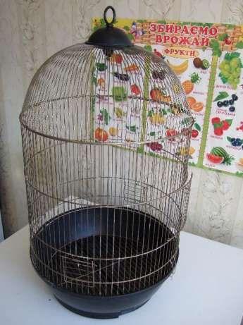 Клетка большая для птиц 37х70 б/у Киев - изображение 1
