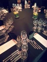 Delta Vancouver Suites Winemakers Dinner set up