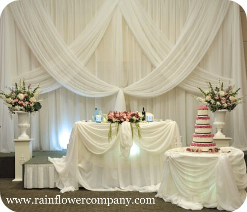 Top 25 Best Wedding Head Tables Ideas On Pinterest: 1618 Best CEILING DRAPING, LIGHTING & BACKDROPS Images On