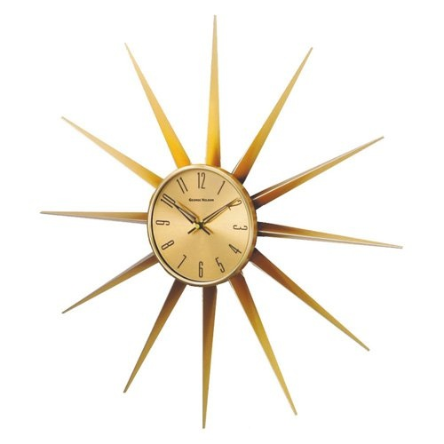 Have to have it Control Brand Sunray Wall Clock Gold  : f2b437cb7cc1d907080b12d898a7ce5e from it.pinterest.com size 500 x 500 jpeg 32kB