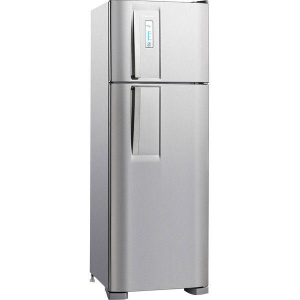 cool Geladeira / Refrigerador Electrolux DF36X 310 litros 2 portas Frost Free Inox 02317FBA189 34649