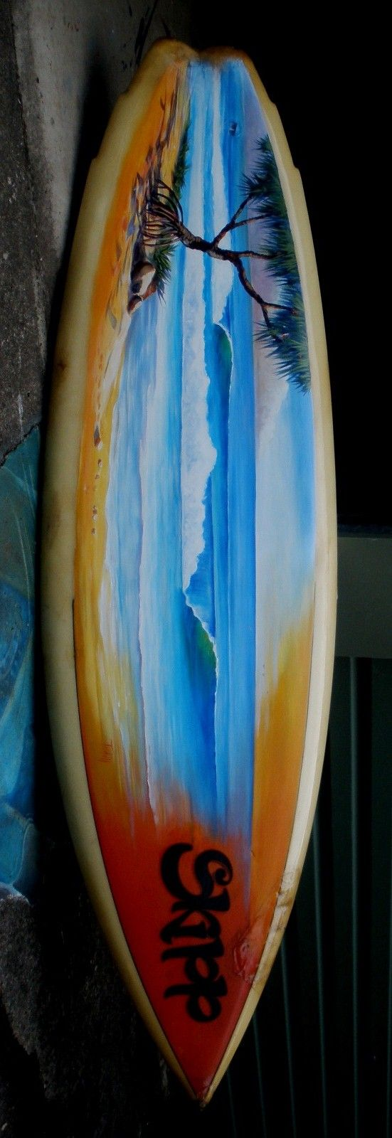 Painted Surfboards