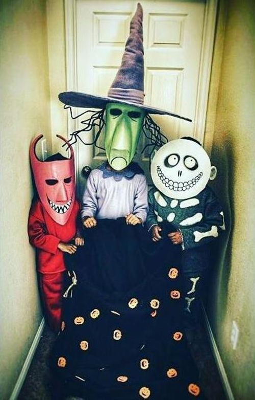 kids nightmare before christmas costumes
