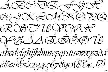my tattoo guarded by faith :) Vivaldi font | Tattoos | Vivaldi font, Tattoo fonts, Calligraphy letters