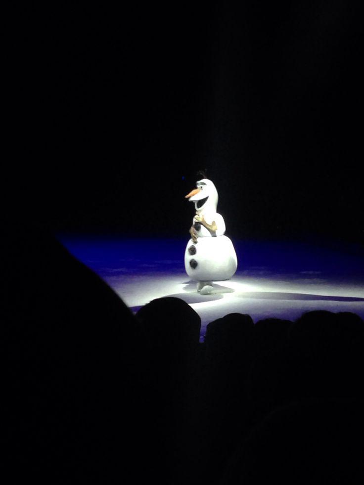 Olaf Disney on Ice