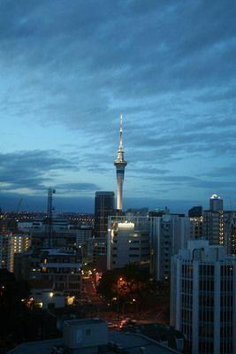 A New Zealand communications tower stands as the tallest structure in the Southern Hemisphere