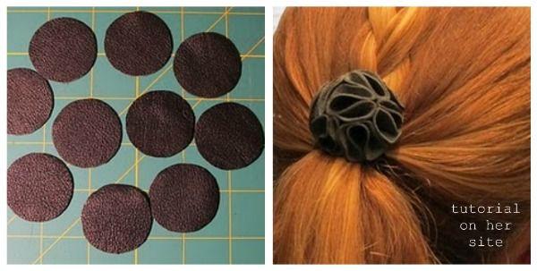 accesorios para el pelo hechos en casa