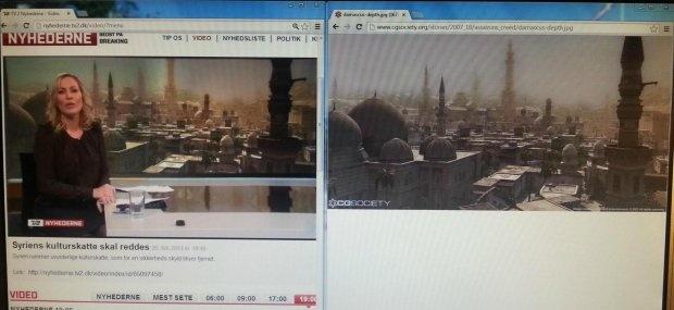 """TV2 brugte billede fra """"Assasin's creed"""" til Syrien historie i Nyhederne"""