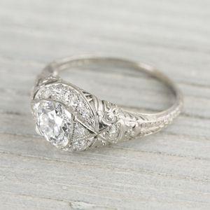 Vintage Engagement Rings 2014 Designs- Fashion Fist (19)