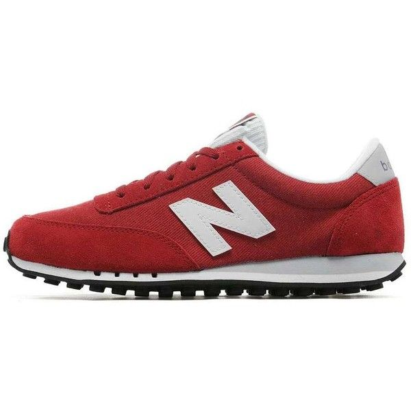 New Balance 410 Denim Women's featuring polyvore women's fashion shoes new balance shoes new balance footwear new balance denim shoes