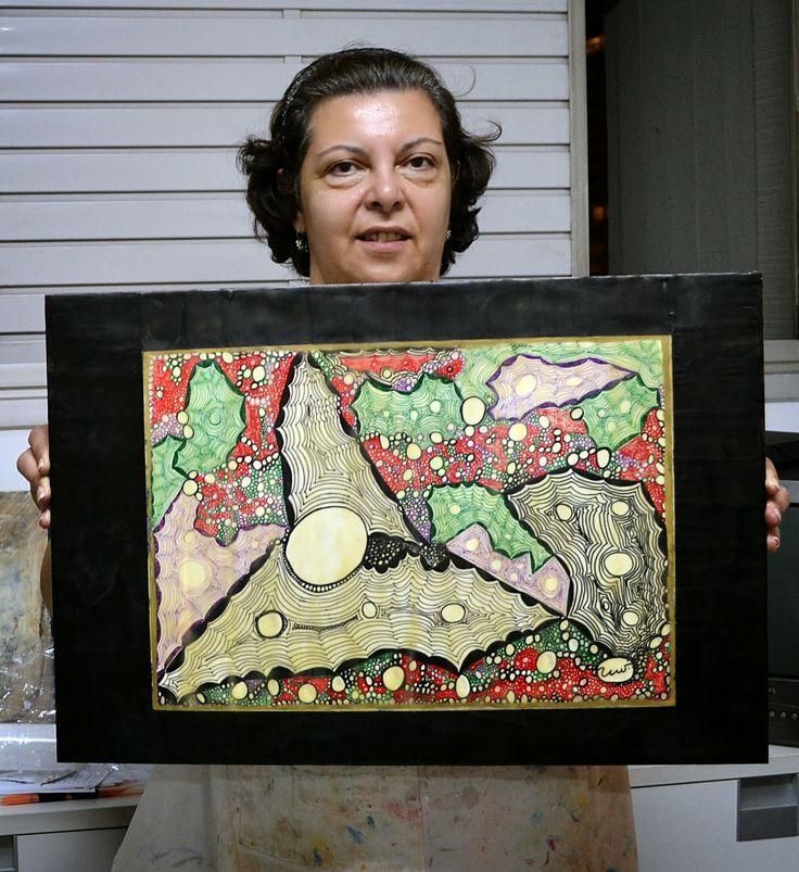 Ana Carmen Nogueira - Ateliê de Artes: Zaíra Abreu