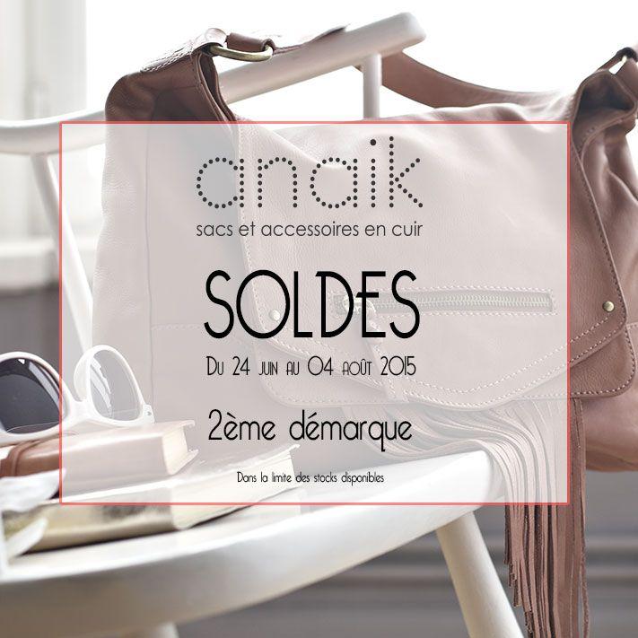 profitez de la 2ème démarque pour vous faire plaisir ! jusu'à moins 50% #soldes #sac #cuir