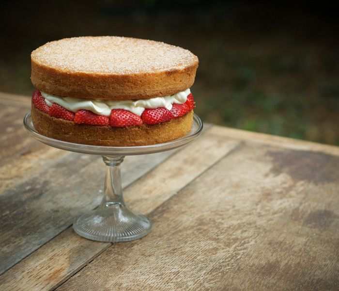 Victoria Sponge Cake: Quintessentially British and, too predictably, my boyfriend's favorite dessert.