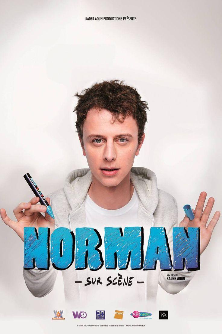"""Succès ! Reprise ! Norman de """"Norman fait des vidéos"""" sur scène à Bobino !"""