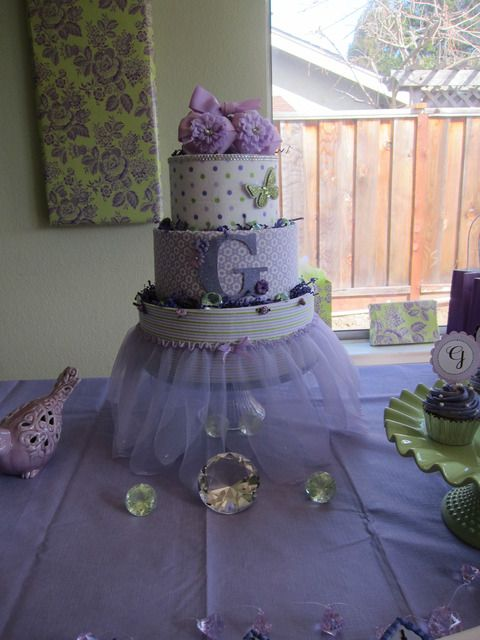 Girly shower Baby Shower Party Ideas | Photo 4 of 12