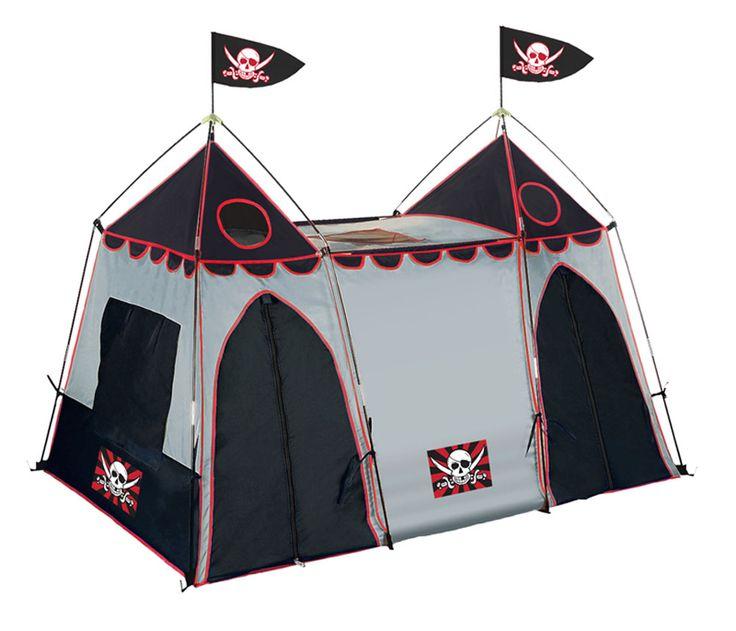 Giga Tent Pirate Hide-Away Play Tent - AAARRRGH!!! Ahoy matey.  sc 1 st  Pinterest & 8 best Childrenu0027s Play Tents images on Pinterest | Play tents ...
