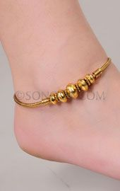 Indian Bridal Anklets, Indian Anklets Designs, Traditional Indian Anklets