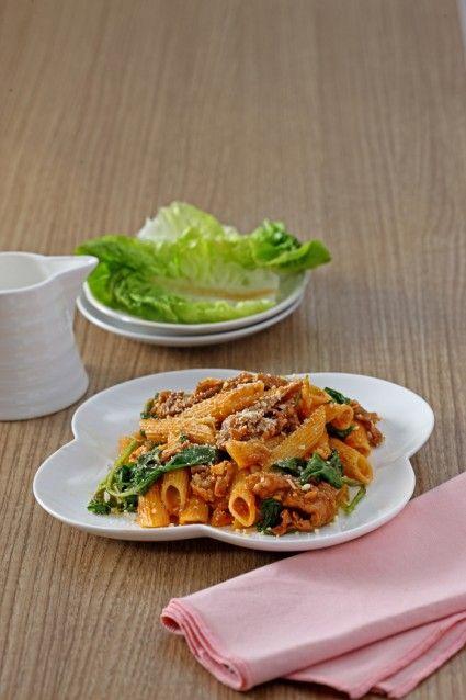 Penne sukiyaki brokoli bbq, sajian pesta yang lezat. Yuk, kita buat di rumah.